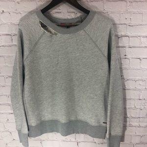 n:Philanthropy Distressed Sweater